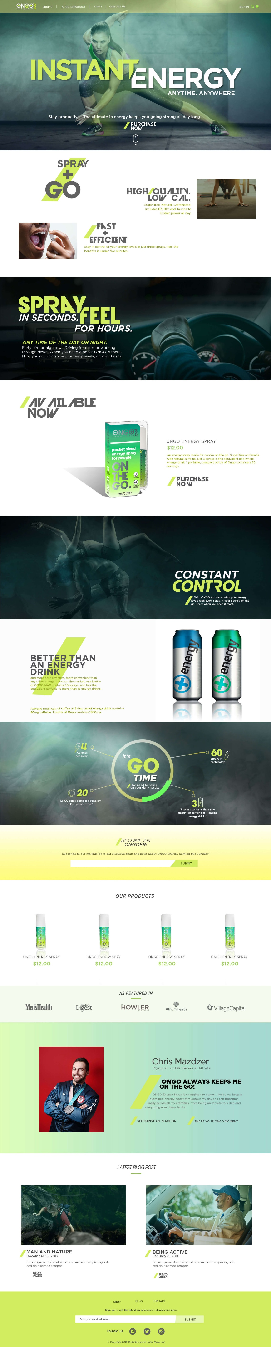 ON GO ENERGY by Rowena Ramos 1 716719 - Freelancer on Guru