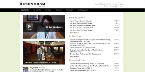 J. Hilburn Green Room V2.0 by bizhues IT on Guru
