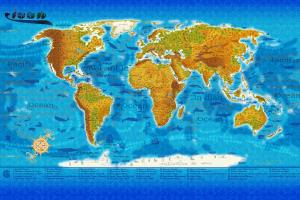 Portfolio for Map Design/Illustration/ GIS