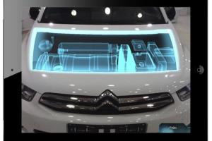 Augmented reality Citroen