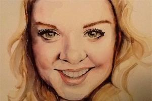 Portfolio for Portrait painting - Watercolor