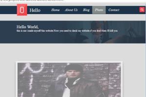 Portfolio for I am a web devloper