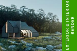 Portfolio for Architecture,3D Visualization & Modeling