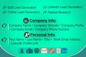 Portfolio for Lead Generation