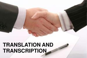 Portfolio for English Transcriptions