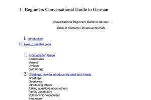 Portfolio for German translator and freelance writer
