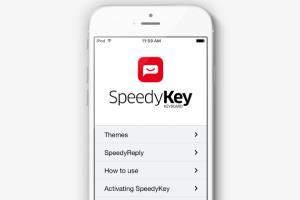 SpeedyKey - iOS app for virtual keyboard