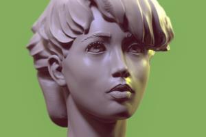 Portfolio for Zbrush modeler for figures