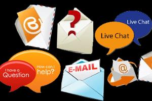 Portfolio for Customer service rep via Chat & Email