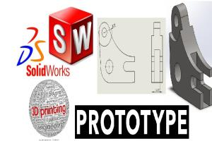 Portfolio for cad design and editing by Solidworks