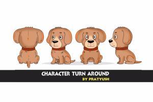 Portfolio for character turn around and storyboard