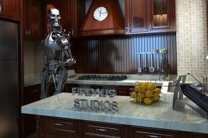 Portfolio for 3d modelling and architecture