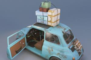 Portfolio for 3D Modeling/3D rendering