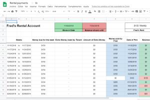 Portfolio for Excel or Google Spreadsheets management