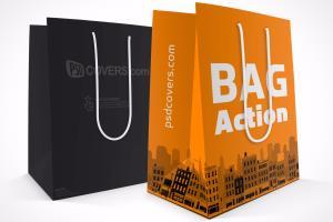 Portfolio for I will design amazing shopping bag.