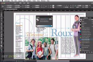 Portfolio for Indesign
