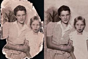 Portfolio for Photo Restoration/Coloring Service