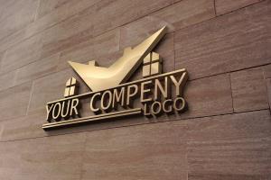 Portfolio for i will do real estate logo design..