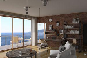 Portfolio for Interior design,3D photorealistic render