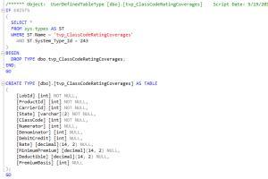 Portfolio for SQL Server Database Development Services