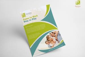 Portfolio for Flyers, Brochures, Corporate Identity