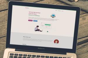 Portfolio for Laravel & VUE Custom Website