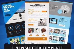 Portfolio for Newsletter Design