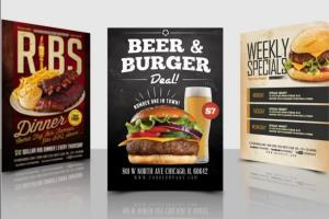 Portfolio for Banner or Flyer Design