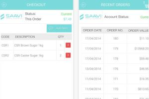 Mobile Ordering app (iOS and Android)