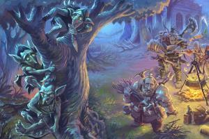 Portfolio for FANTASY ILLUSTRATIONS FOR BOARD GAMES