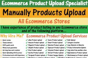 Portfolio for Ecommerce Product Upload Specialist