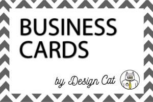 Portfolio for Professional Business Cards