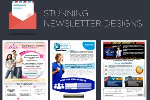 Portfolio for Newsletter Design
