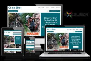 Click-Bike eCommerce website