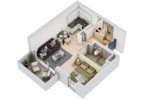 Portfolio for 3D floorplan