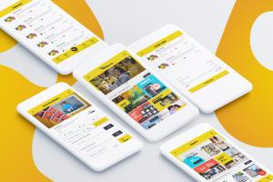 Portfolio for UI Design for Website and Apps.