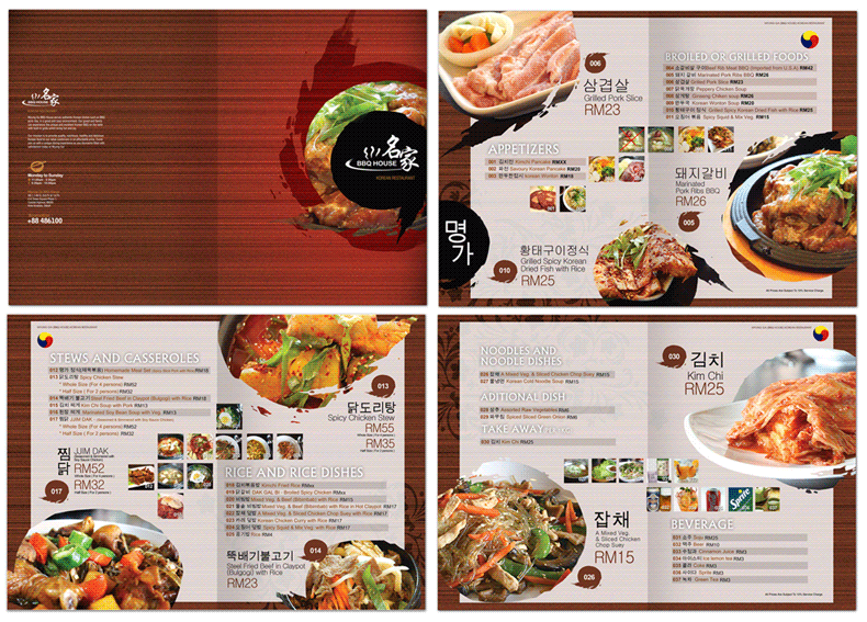 Awesome Menu Design Ideas Pictures - harmonyfarms.us - harmonyfarms.us