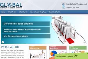 Portfolio for Lead Generation Website Design