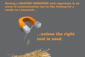 Portfolio for The Graphic Designer that you need