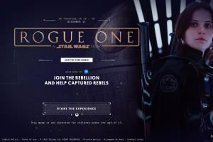 'Rogue 1' Magento Based Fan Item Selling Website