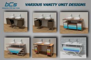 Modernist Vanity Units - Various Designs