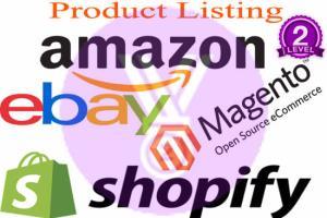 Portfolio for eBay & Amazon specialist