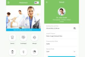 Portfolio for Health & Medical (App & website)