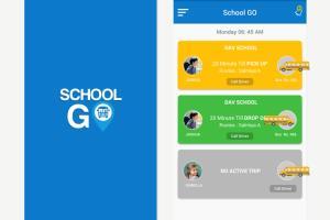 Portfolio for School system (Website & Application)