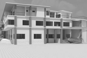 Portfolio for 3D Revit model from 2d CAD