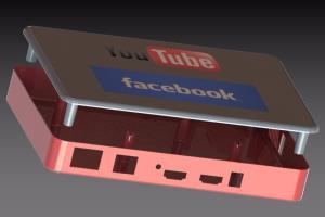 3D Set top box enclosure design