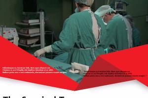 sample hospital graphic design