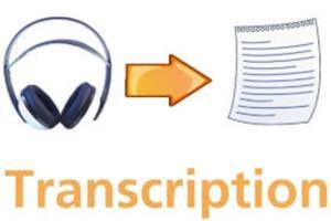 Portfolio for Translation, Transcription and Proofread