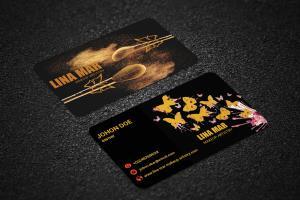 Portfolio for Eye caching business card design