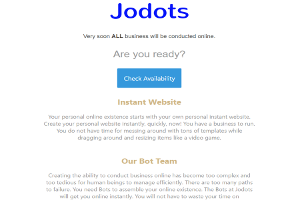 The Bots at Jodots